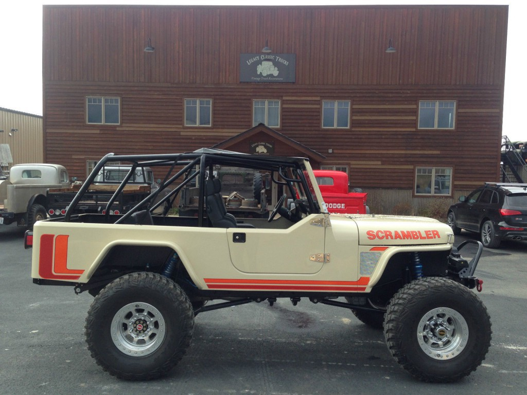 1974 Jeep CJ Scrambler Turbo Diesel