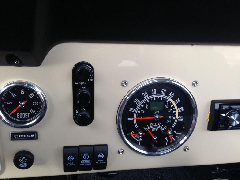 1974 Jeep CJ Scrambler Turbo Diesel