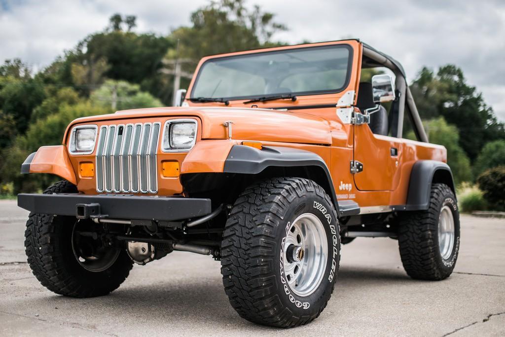 1988 Jeep Wrangler DIESEL 350 HORSEPOWER !! for sale