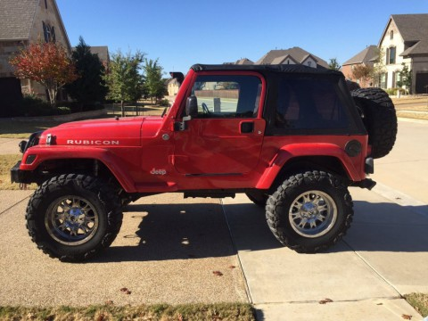 2005 Jeep Wrangler TJ Sport 4×4 lifted, Nitto Mud Grapplers for sale