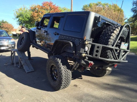 2012 Jeep Wrangler Unlimited Crawler for sale