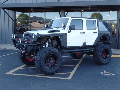 2013 Jeep Wrangler on 40 inch for sale