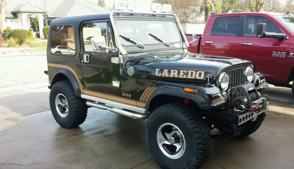 jeep cj7 laredo 1985 cj 7 cj 7 for sale. Black Bedroom Furniture Sets. Home Design Ideas