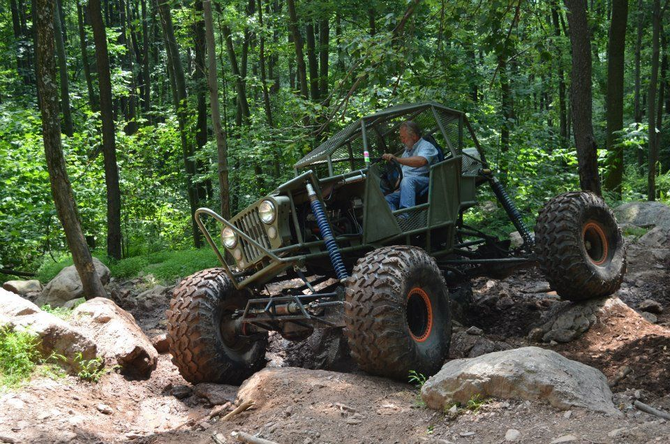 Jeep Other Rock Crawler Buggy – with 49 in. IROK Super Swamper Tires