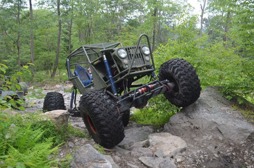 Jeep Wrangler Military Edition >> Jeep Other Rock Crawler Buggy – with 49 in. IROK Super Swamper Tires for sale