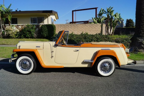 1949 Jeep Willys Jeepster for sale