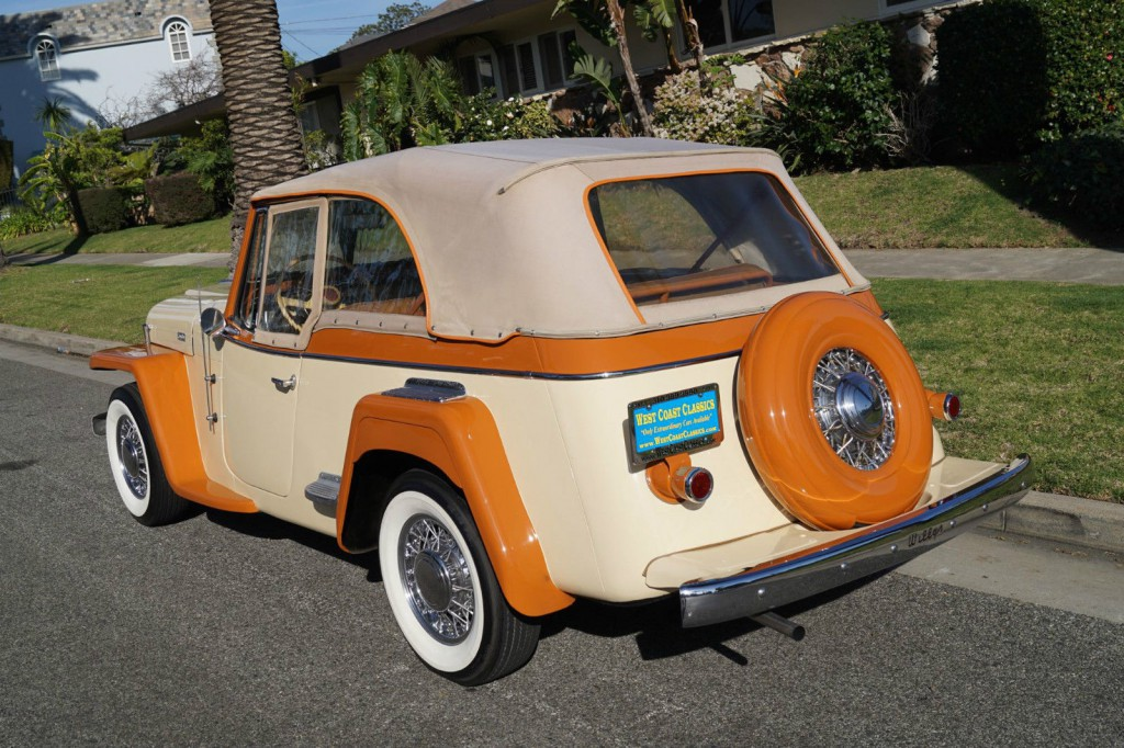 1949 Jeep Willys Jeepster