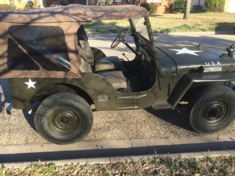 1952 Jeep Willys M38 for sale