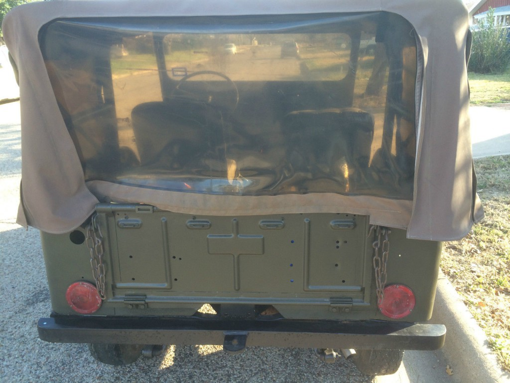 1952 Jeep Willys M38
