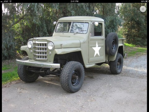 1952 Jeep willy's pick up for sale