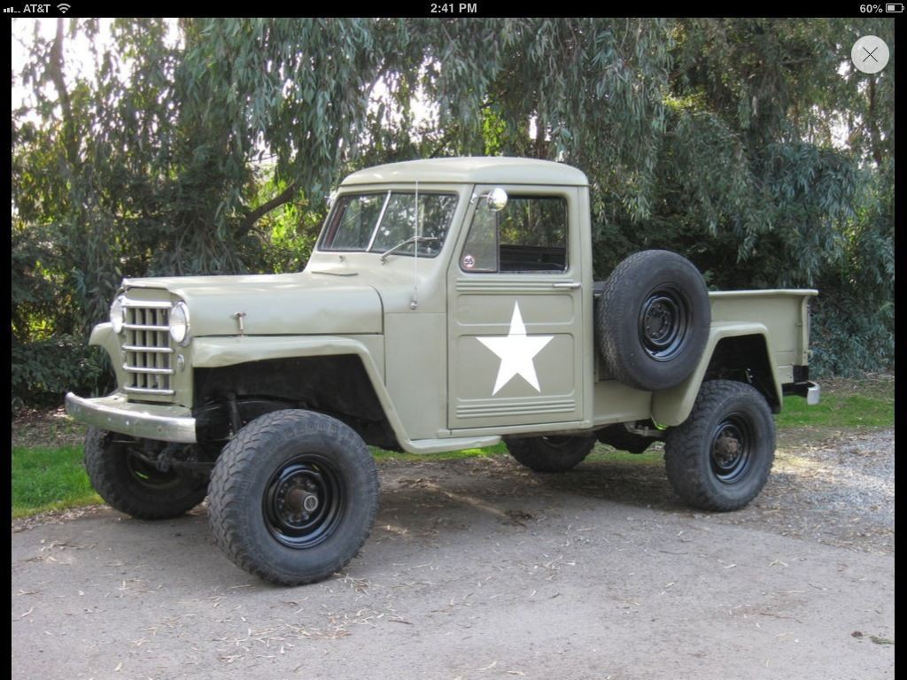 1952 Jeep willy's pick up