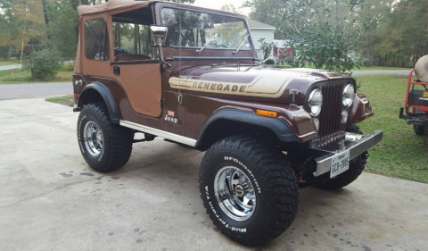 1976 Jeep CJ5 Renegade Levi Edition for sale