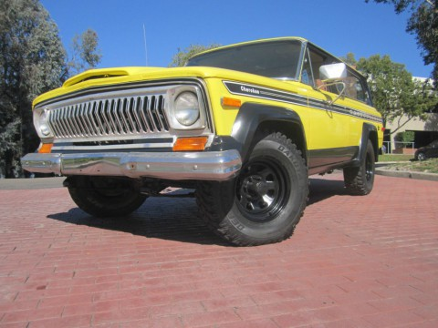 1977 Jeep Cherokee CHEIF for sale