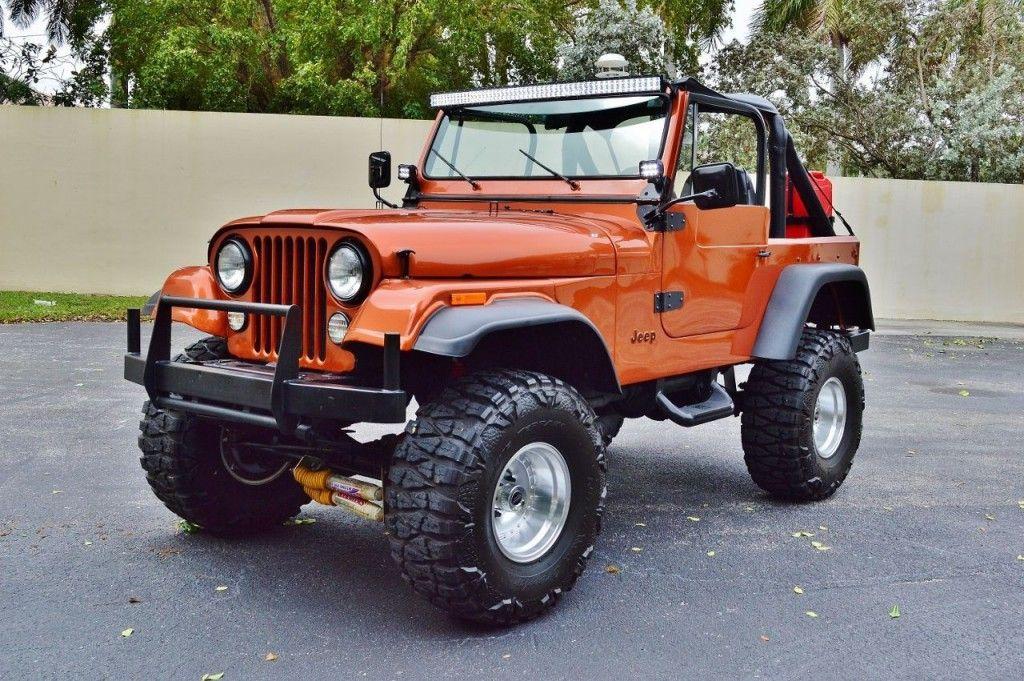 1979 jeep cj 7 restored for sale. Black Bedroom Furniture Sets. Home Design Ideas