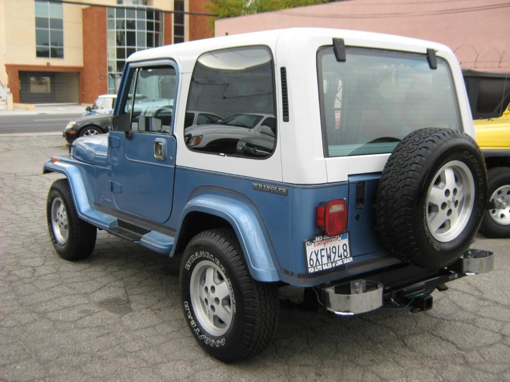 1989 Jeep Wrangler Yj Laredo For Sale