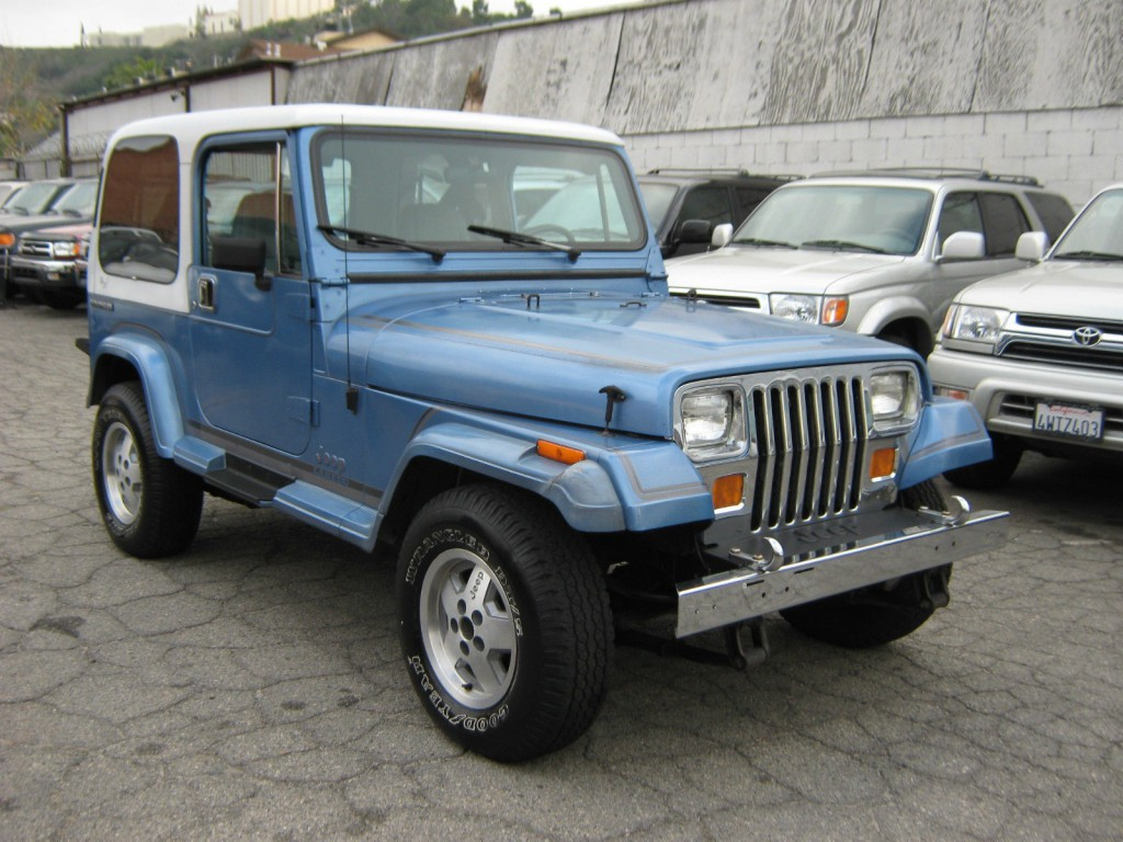 Jeep Wrangler V8 2017 >> 1989 Jeep Wrangler YJ LAREDO for sale
