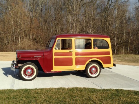 1947 Jeep Willys Overland 463 L-134 Woody for sale
