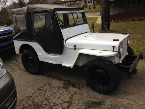 1948 Jeep Willyho CJ-2A for sale