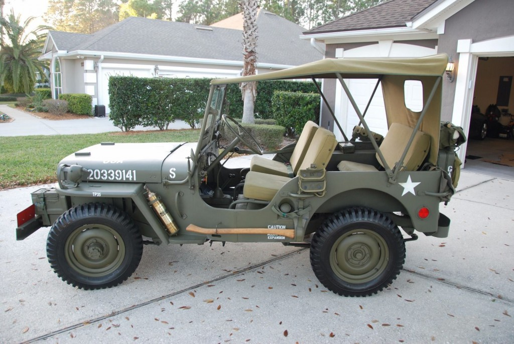 Jeep Willys For Sale >> 1948 Jeep Willys CJ2A for sale