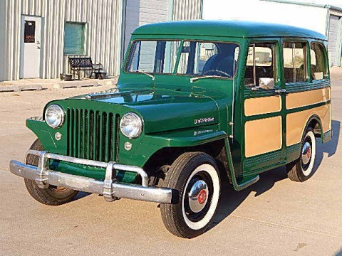 1949 Willys Overland Station Wagon for sale