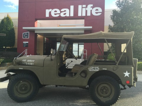 1953 M38A1 4×4 Authentic Korean War Army Jeep for sale