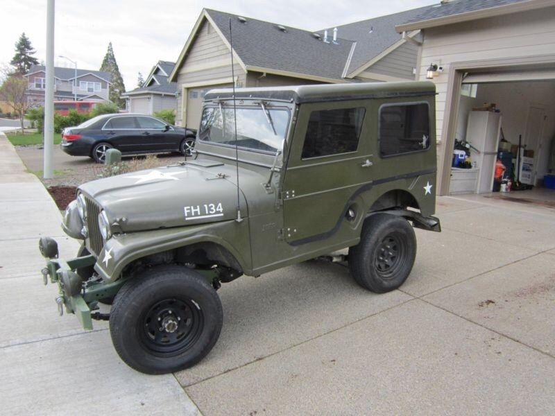 1955 Jeep Cj5 For Sale