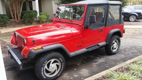 1989 Jeep Wrangler Sport 4,2 l for sale