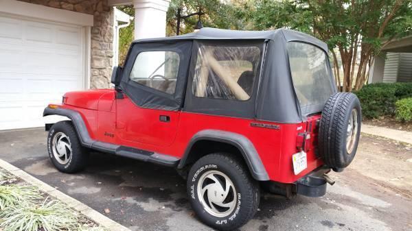 1989 Jeep Wrangler Sport 4,2 l