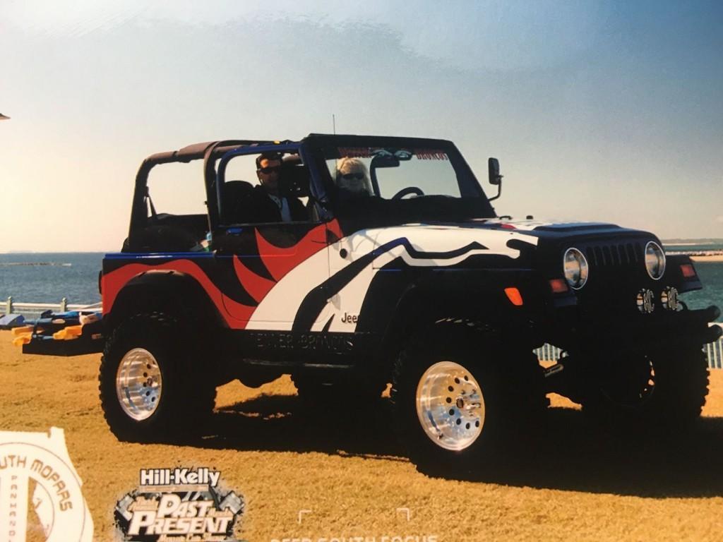 1999 Jeep Wrangler Denver Broncos