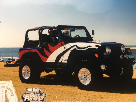 1999 Jeep Wrangler Denver Broncos for sale