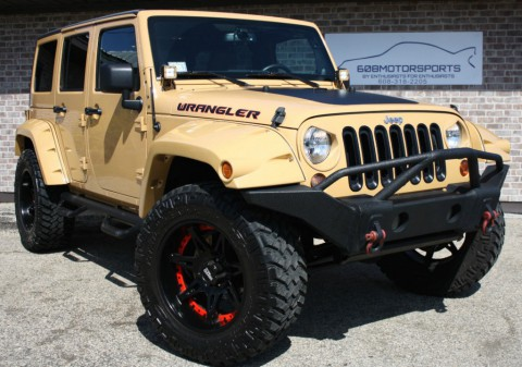 2013 Jeep Wrangler Sahara Lift for sale