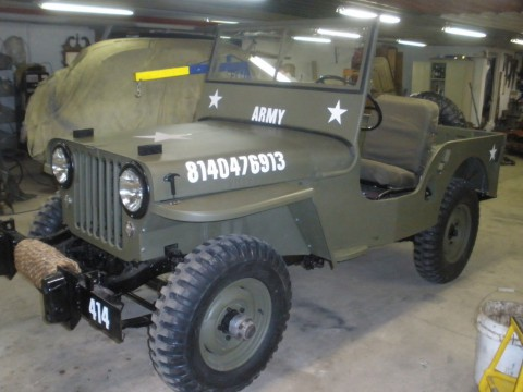 1946 Jeep CJ Military style CJ2A for sale
