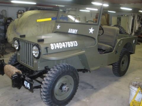 1946 Jeep CJ Military style CJ2A for sale