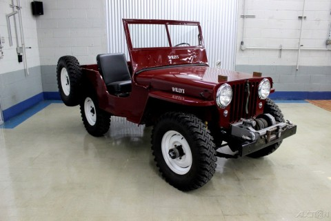 1948 Willys CJ-2A Overland for sale