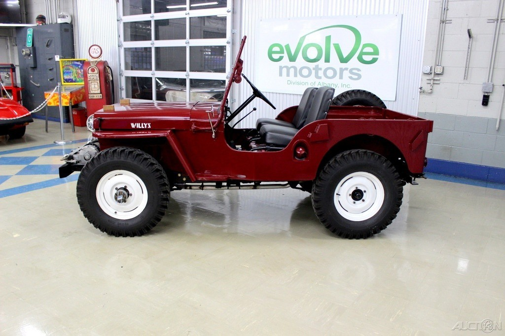 1948 Willys Cj 2a Overland For Sale