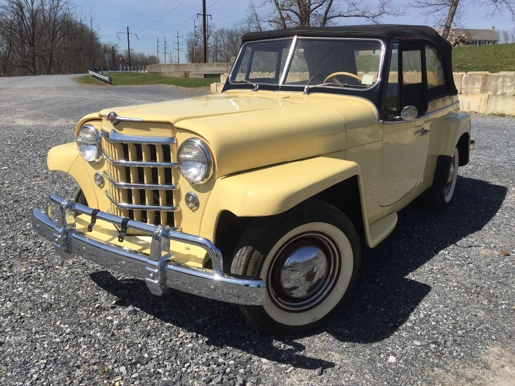 1950 Jeep Willys Jeepster