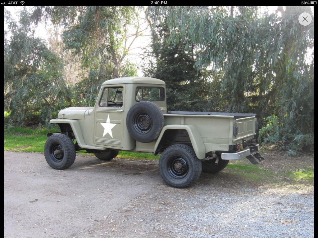 1952 Jeep Willyho Pick Up