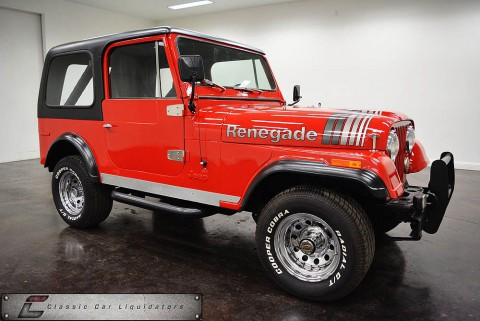 1979 Jeep CJ-7 4×4 for sale