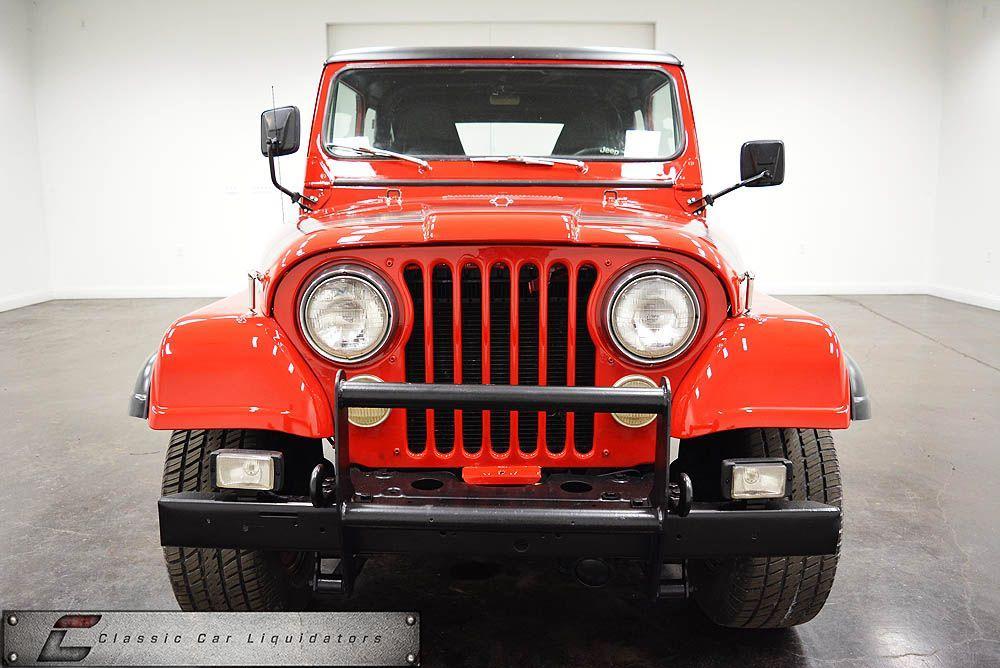 1979 Jeep CJ-7 4×4