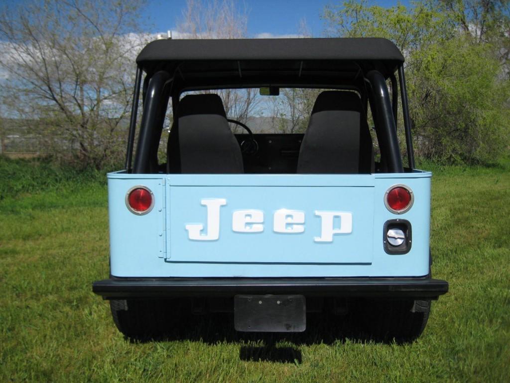1979 Jeep CJ Postal