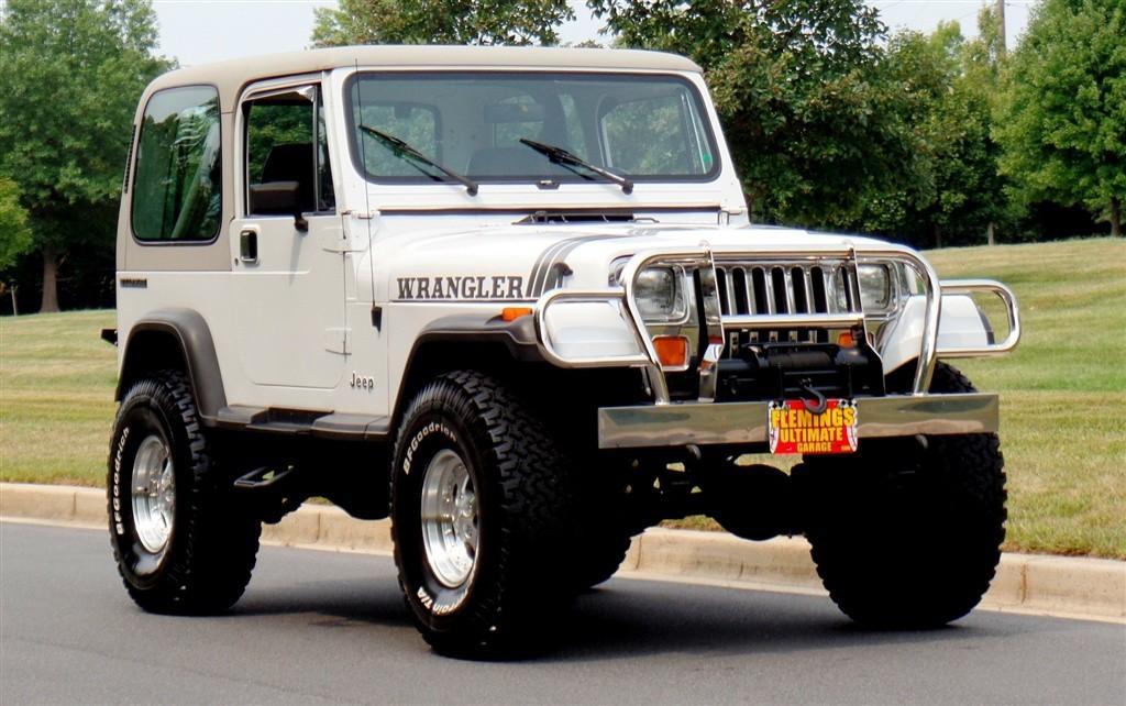Jeep Wrangler V8 2017 >> 1990 Jeep Wrangler YJ for sale