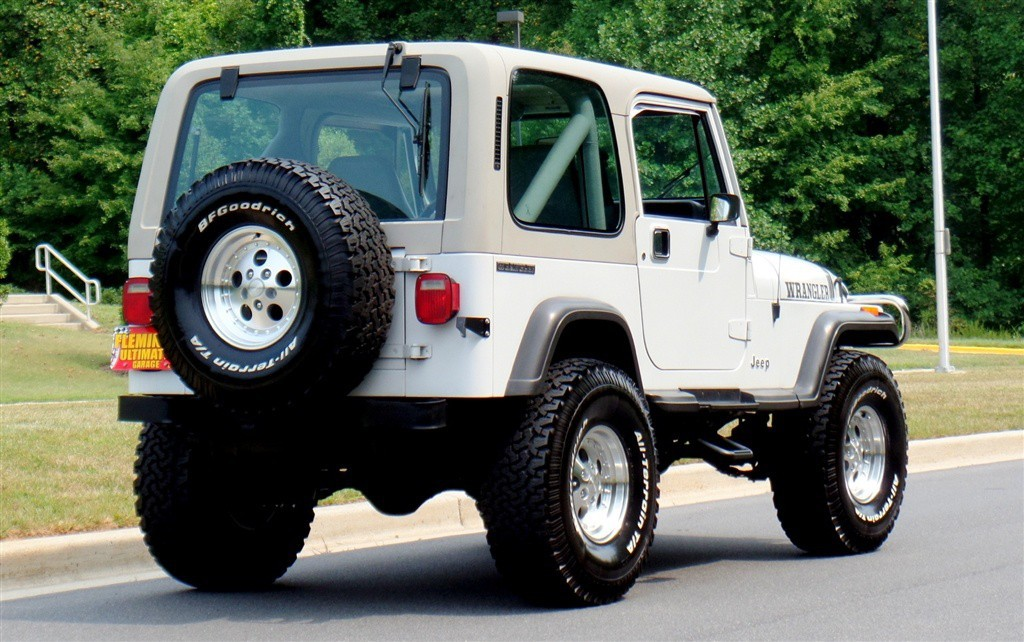 Jeep Wrangler V8 2017 >> 1990 Jeep Wrangler YJ for sale