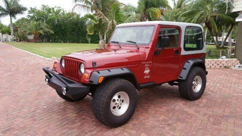 1998 Jeep Wrangler Sahara for sale