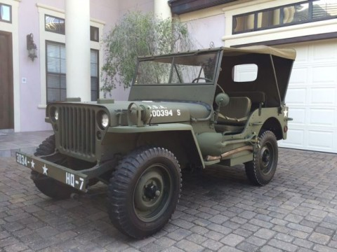 1943 Willys Jeep MB for sale