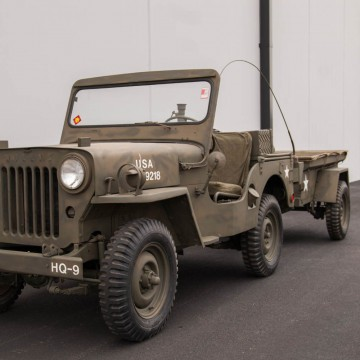 1952 Willys Military Jeep for sale