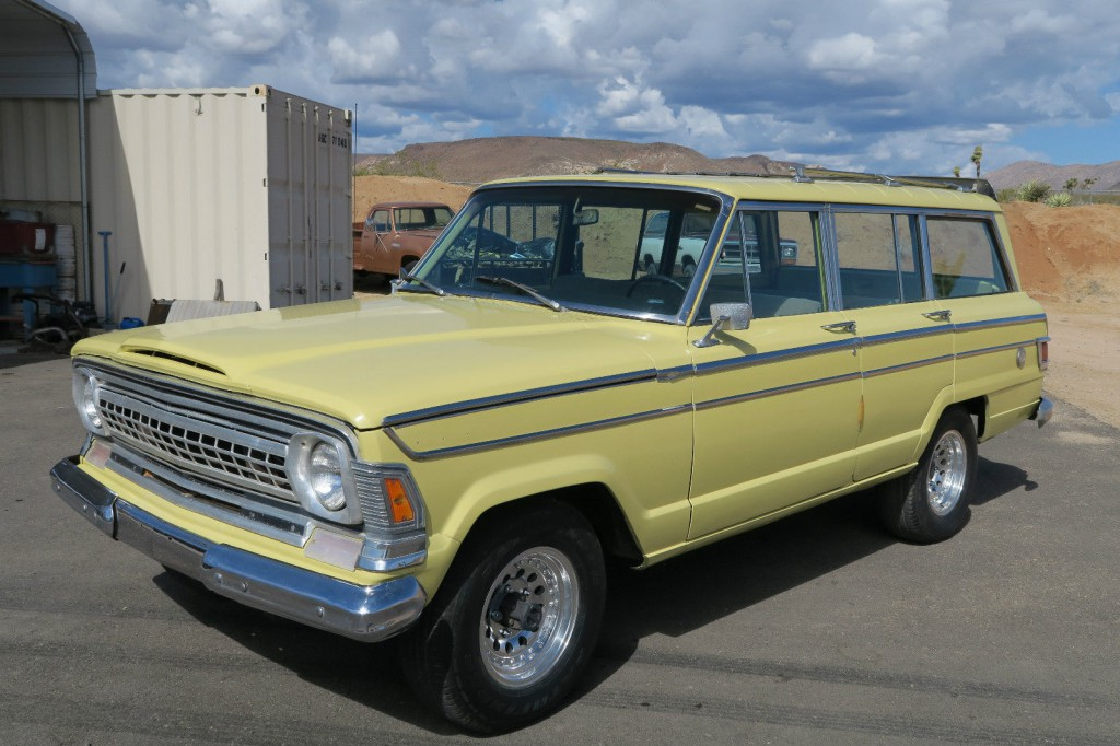 1973 jeep wagoneer 4x4 360 v8 for sale. Black Bedroom Furniture Sets. Home Design Ideas