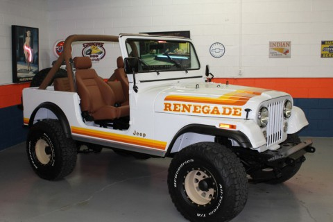 1982 Jeep CJ RENEGADE for sale