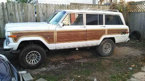 1991 Jeep Grand Wagoner Diesel-Hybrid for sale