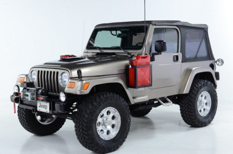 2003 Jeep Wrangler Sahara for sale