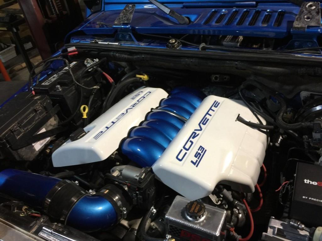 2014 Jeep Wrangler Unlimited LS3 V8, Polar Edition